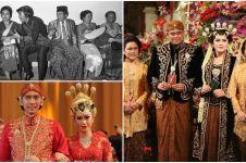 11 Potret sakral pernikahan anak presiden dari Soekarno hingga Jokowi