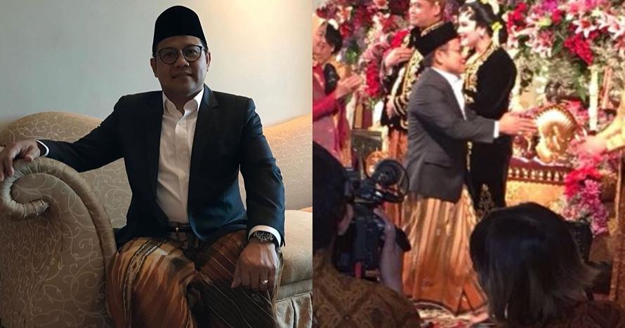 Sarungan ke pernikahan Kahiyang-Bobby, Cak Imin promosi budaya santri