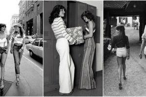 20 Gaya fashion cewek 1970-an, rok mini dan celana gemes di mana-mana