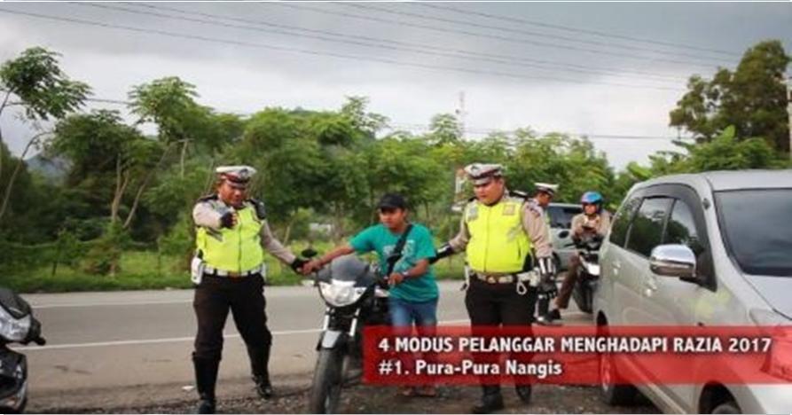 6 Video bikinan Satlantas Aceh Besar ini bikin ngakak, ngena banget