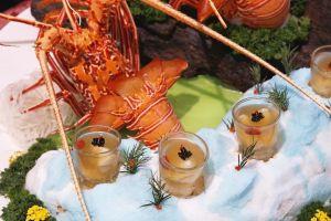 Puding ini berbahan dasar utama lobster, harganya Rp 3 juta/kg