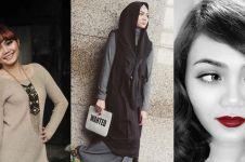 10 Transformasi Rina Nose dari sebelum, memakai hingga lepas hijab