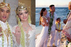 7 Pasangan seleb ini menikah dengan cara sederhana, layak ditiru