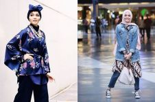 Harga 10 fashion item penunjang gaya Rina Nose ini bikin melongo