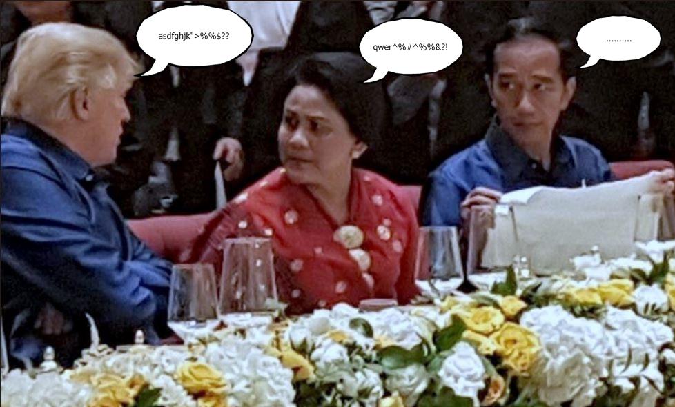 5 Obrolan imajiner warganet soal Jokowi lirik Iriana ini kocak parah