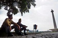 2 veteran Yogyakarta ini takjub lihat Jakarta, sampai terheran-heran