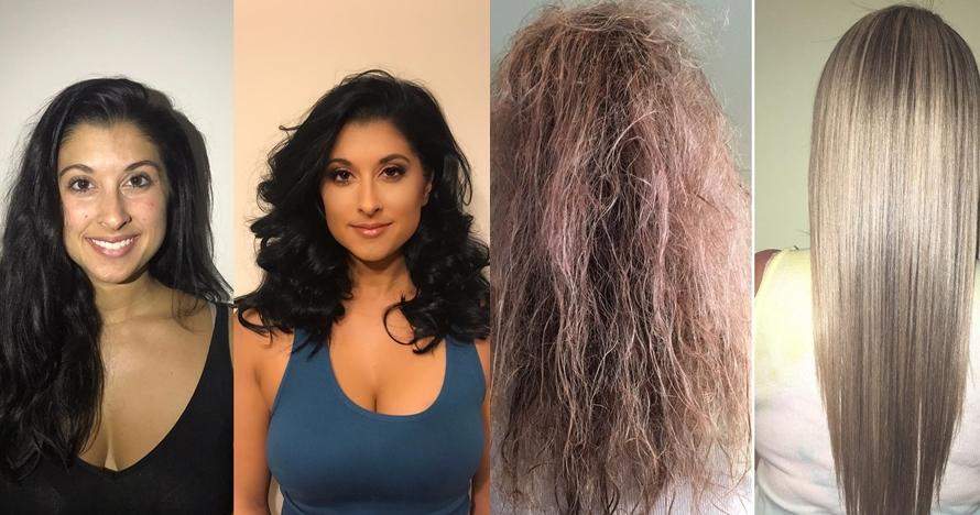 12 Transformasi gaya rambut cewek ini bikin pangling, makin cantik