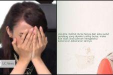Sambil menangis, ini curhat Rina Nose setelah lepas hijab