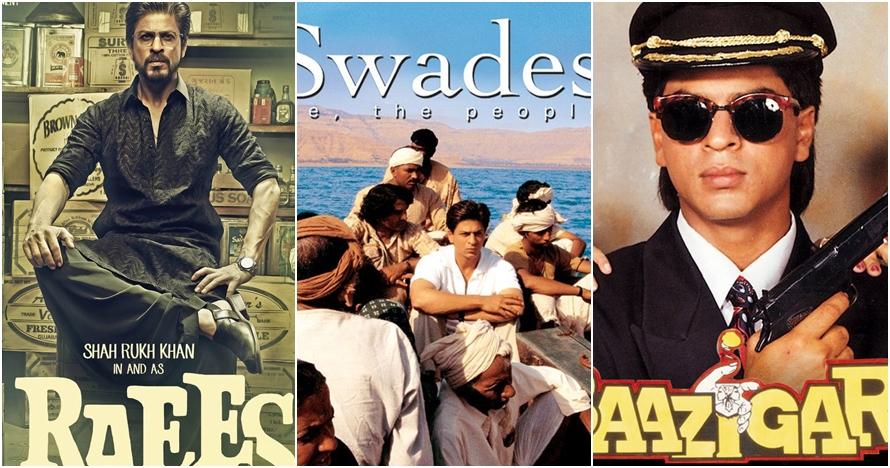 Tak melulu romantis, peran Shah Rukh Khan di 7 film ini keren parah