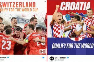 28 Negara sudah lolos ke Piala Dunia 2018, sisa empat lagi
