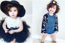 10 Gaya Ivy Saylor, balita lucu yang jago berpose bak fashion blogger