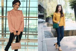 Tak selalu sederhana, ini 7 gaya Sarwendah dengan outfit mahal