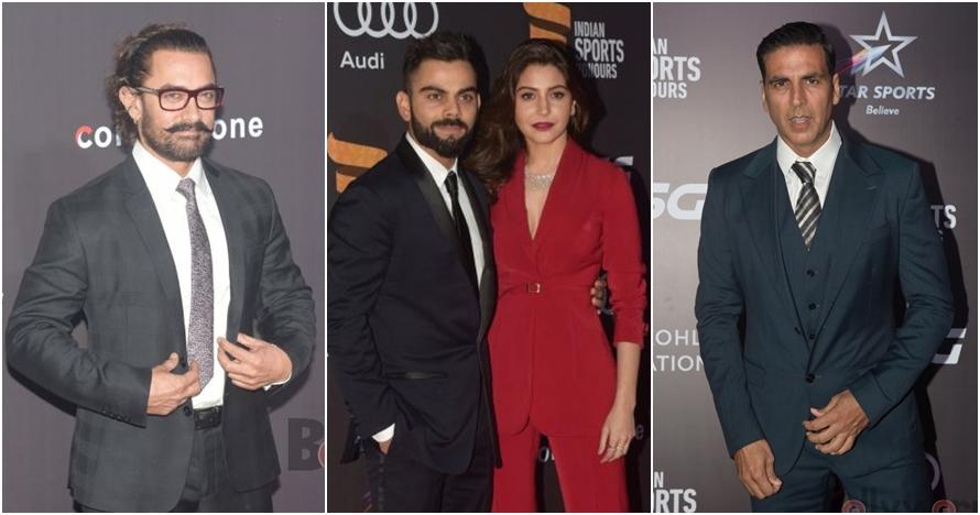 Gaya 10 seleb Bollywood saat hadiri Indian Sports Honours Awards 2017