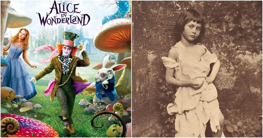 Suka film Alice in Wonderland? Ini 8 foto lawas Alice sesungguhnya