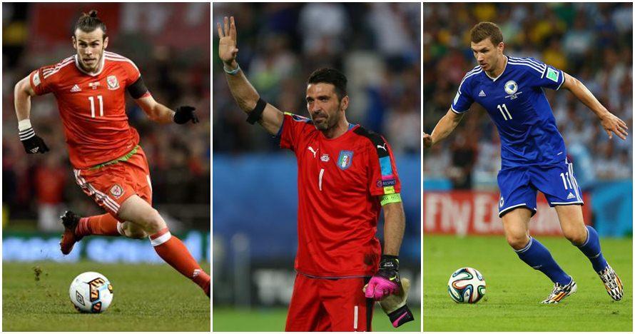 11 Pemain bintang ini hanya akan jadi penonton di Piala Dunia 2018