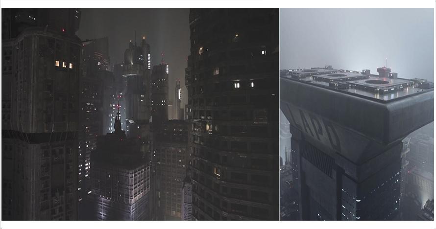 10 Foto ungkap rahasia di balik bangunan keren film Blade Runner 2049