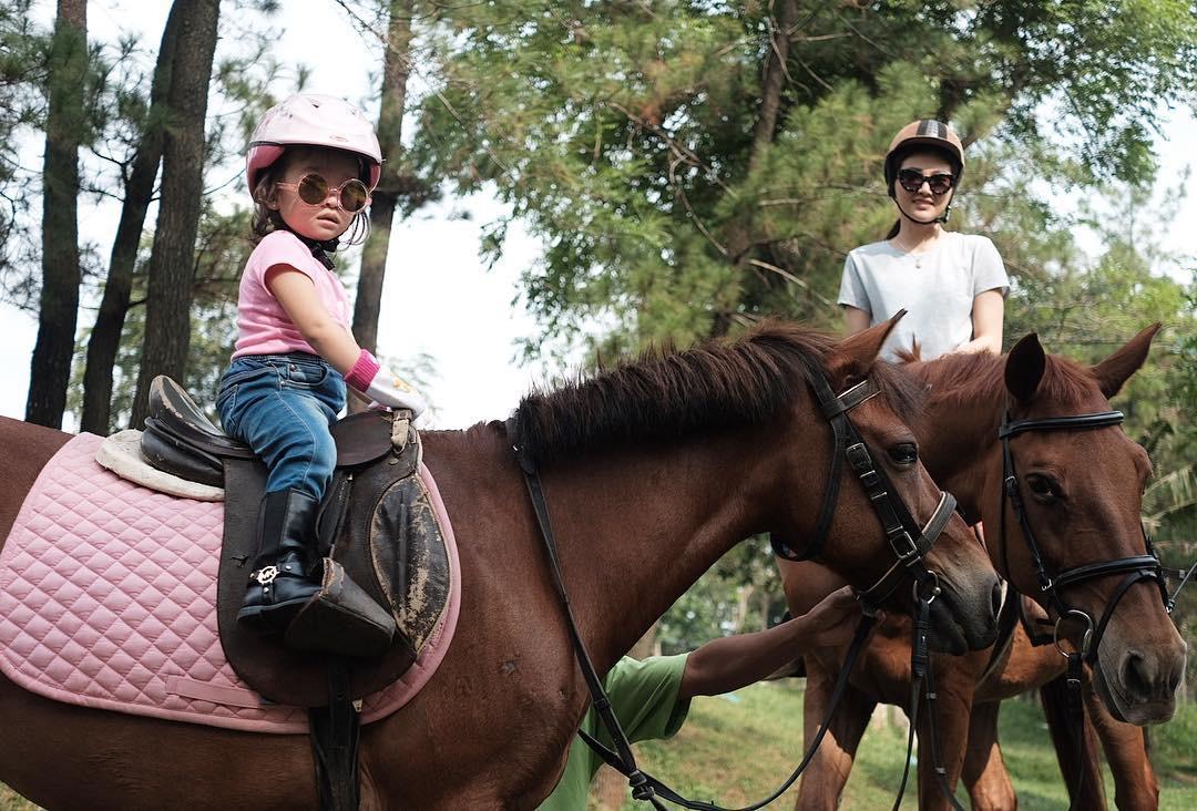 Tak hanya Nabila Syakieb, 2 seleb ini juga pelihara kuda lho
