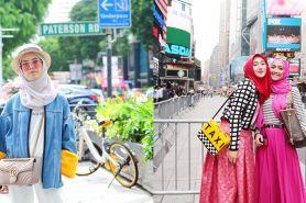 7 Gaya fashion hijab OOTD ala selebgram, sopan dan kekinian