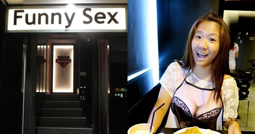 Ini restoran bertema seks pertama di Taiwan, celemeknya seperti bra