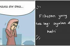 Komik lepas hijab ini endingnya justru bikin tepuk jidat