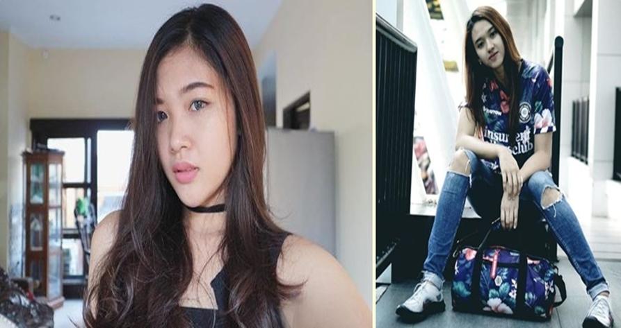 5 Dara cantik di balik garangnya pemain Bali United