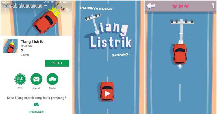 Setelah Setnov kecelakaan, muncul game Tiang Listrik yang kreatif abis