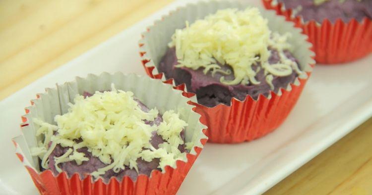 Musim hujan enaknya ngemil cupcake ubi ungu, cara bikinnya mudah lho