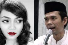 Diejek hidung pesek Ustaz Abdul Somad, reaksi Rina Nose tak terduga