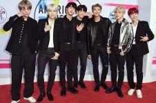 6 Outfit style BTS saat tampil di America Music Awards 2017