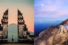 10 Potret keindahan panorama Gunung Agung sebelum meletus