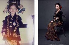 4 Foto cantiknya Ariel Tatum dalam balutan busana adat