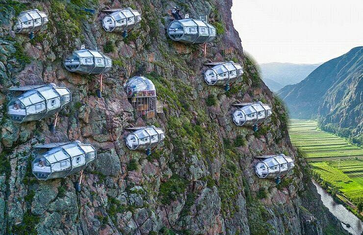 4 potret hotel gantung tertinggi sedunia di purwakarta pengen ng rh brilio net Peru Mountain Hotel Peru Beaches