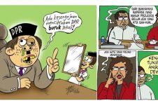 10 Komik sindiran untuk kerja Wakil Rakyat ini nendang banget