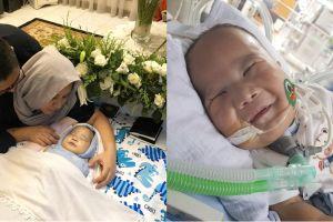 Bayi dengan penyakit langka meninggal dunia, seleb Tanah Air berduka