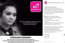 Bagikan kerudung gratis untuk Rina nose, Rabbani dihujat warganet