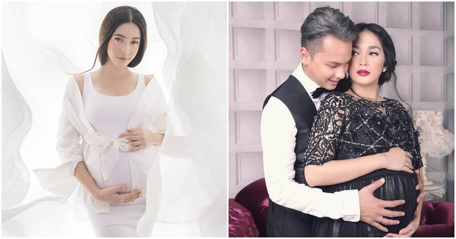 Tak melulu pamer perut, foto kehamilan 8 seleb ini sopan dan elegan
