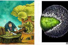 12 Ilustrasi gambarkan kehancuran dunia ada di depan mata