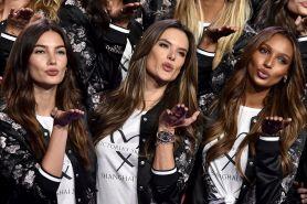 8 Gaya terbaik Angel Victoria's Secret Fashion Show 2017 After Party