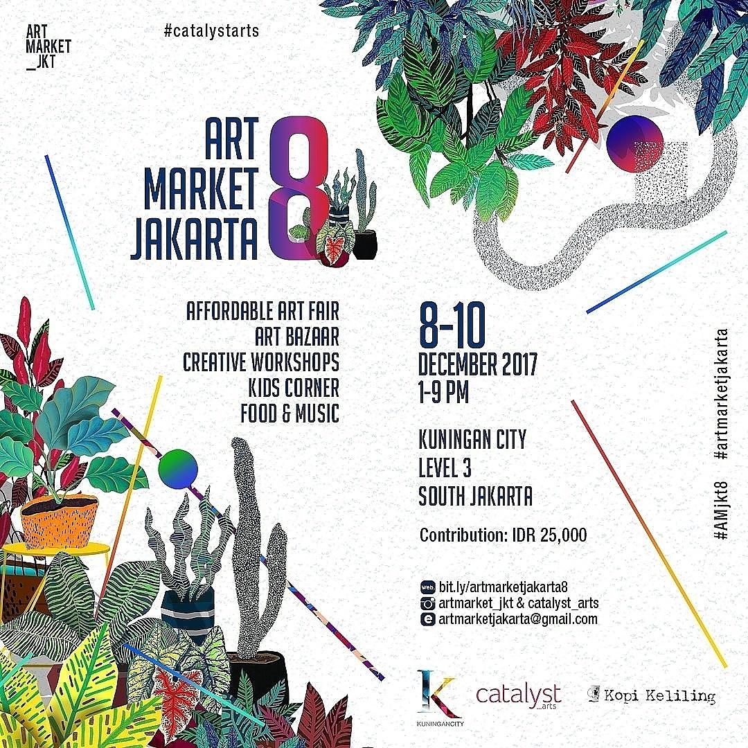 Jangan ngaku pencinta seni kalau nggak datang ke Art Market Jakarta 8!