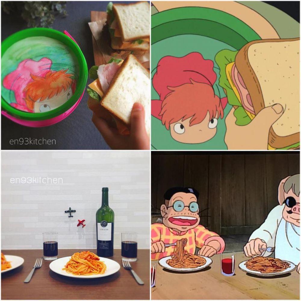makanan ghibli  © 2017 brilio.net