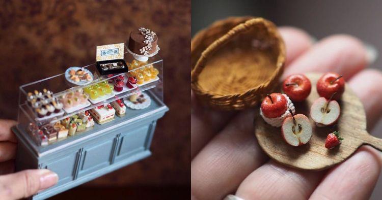 10 Miniatur abad 18 ini dibuat oleh ibu rumah tangga, detailnya unik