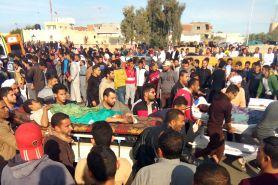 Potret duka usai teror bom di Masjid Al Rawdah Mesir, 305 jiwa tewas