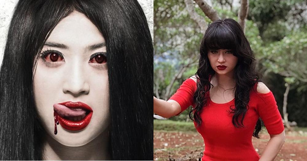 Transformasi peran Dewi Perssik di 7 film horor, aktingnya top abis