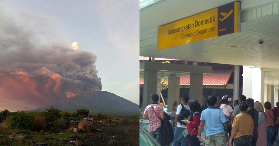 7 Momen terkini Bandara I Gusti Ngurah Rai, 445 penerbangan ditunda