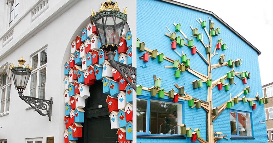 10 Kreasi rumah burung di tengah kota ini indahnya bikin kagum