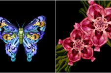 15 'Bunga & hewan' ini detailnya keren, aslinya nggak akan kamu sangka