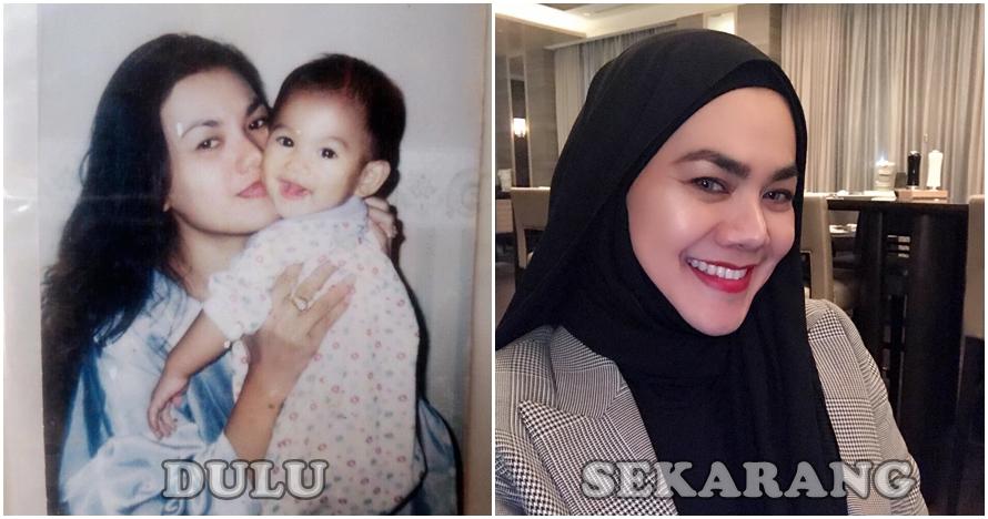 8 Potret Sarita Abdul Mukti saat masih muda, cantik dan menawan