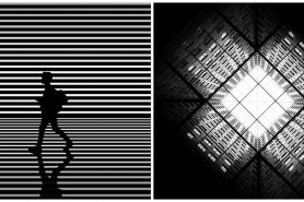 11 Foto minimalis hitam putih ini perspektifnya bikin melongo