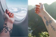 15 Tato keren ini cocok buat kamu yang suka traveling