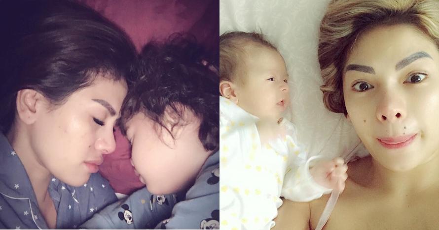 10 Momen hangat Nikita Mirzani bareng anak, sering selfie di ranjang